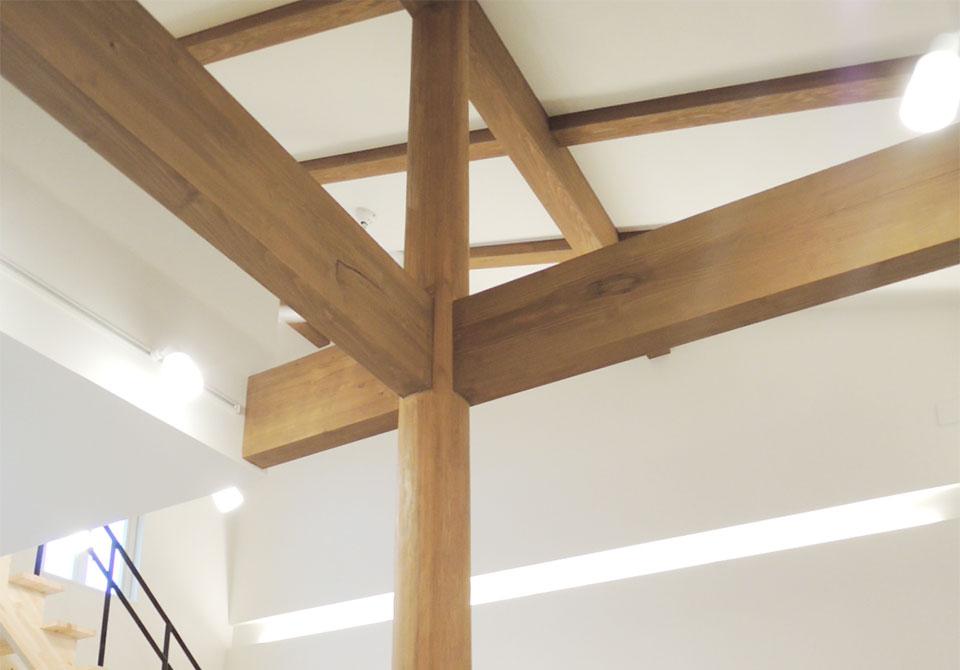 「木造軸組み工法」の魅力 写真