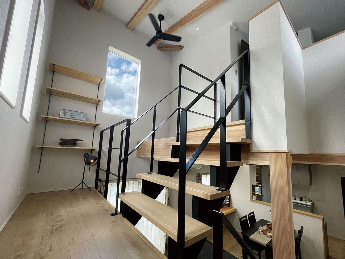 木材を組み合わせて自由なデザインを